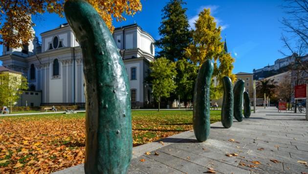 Salzburg Foundation, Erwin Wurm, (Bild: Tourismus Salzburg GmbH)