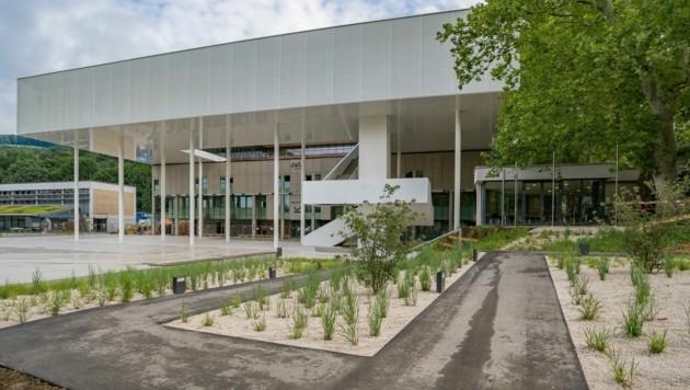 Das neue Lernzentrum an der JKU (Bild: Horst Einöder)