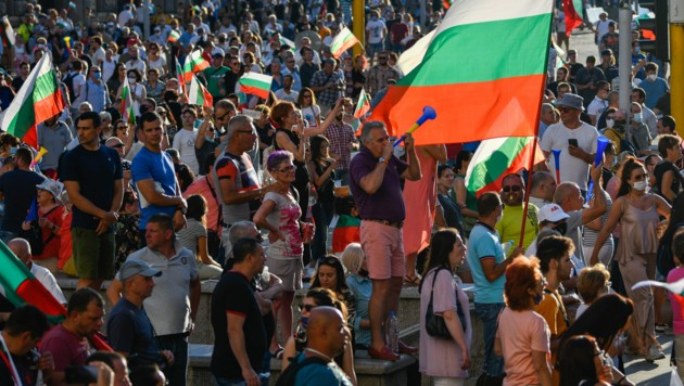 Proteste in Sofia (Bild: AFP)