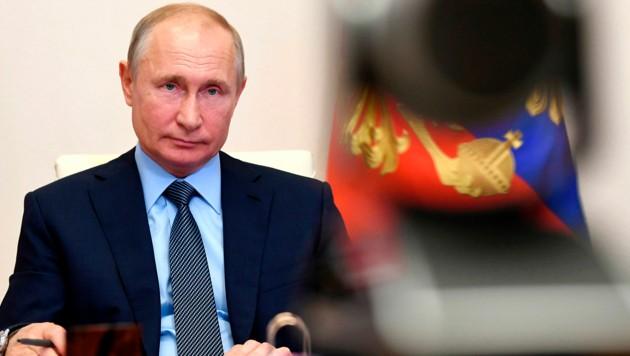 Russlands Präsident Putin ist seit 21 Jahren an der Macht. (Bild: AP)