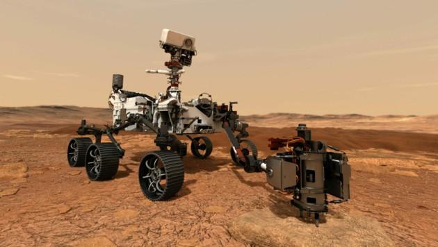 Perseverance wird der größte, schwerste und modernste Rover sein, der je auf dem Mars war. (Bild: AFP/NASA)