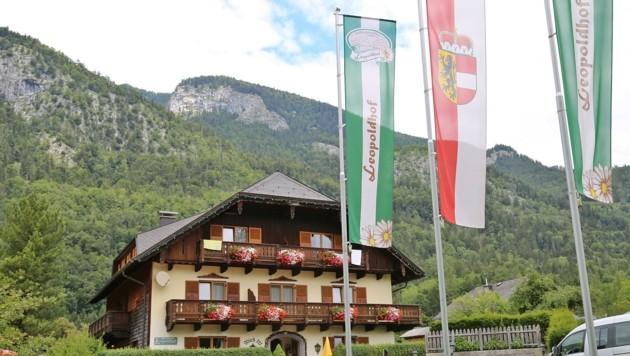 Der Leopoldhof im St. Gilgener Ortsteil Ried. (Bild: Hörmandinger Reinhard)