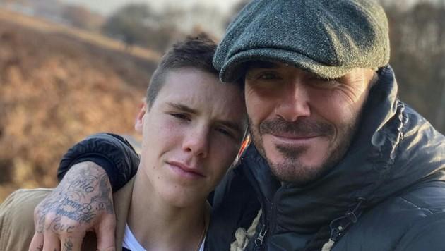 David and Cruz Beckham (Bild: www.PPS.at)