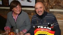 Rosi Mittermaier mit Ehemann Christian Neureuther (Bild: GEPA)