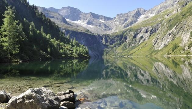 Der Rotgüldensee ist einer von knapp 60 Bergseen und ein beliebtes Ausflugsziel. (Bild: Holitzky Roland)