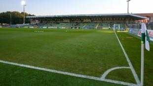Das Pappelstadion, die Heimstätte des SV Mattersburg (Bild: APA/EXPA/THOMAS HAUMER)