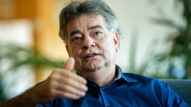Vizekanzler Werner Kogler (Bild: APA/Georg Hochmuth)