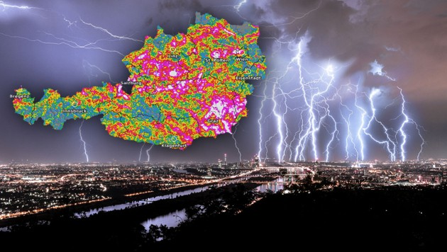 (Bild: stock.adobe.com, UBIMET, Krone KREATIV)