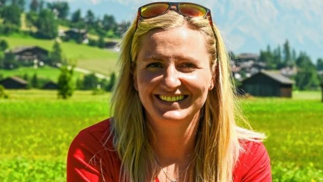 Florina Eller, Juniorchefin und Fluglehrerin von Parafly. (Bild: zeitungsfoto.at/Liebl Daniel)