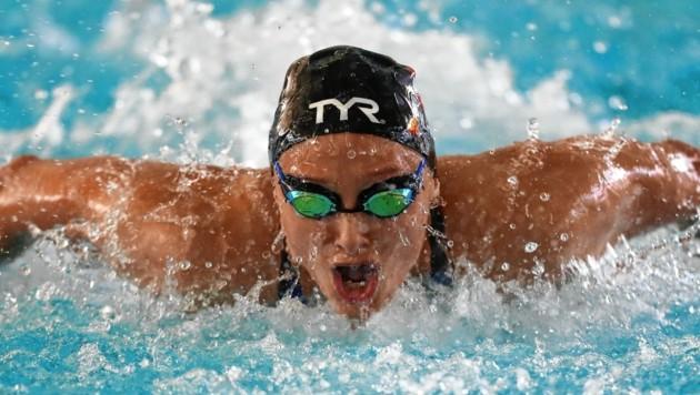 Die Grazer Schwimmerin Caroline Pilhatsch geht in der Auster auf Titeljagd (Bild: GEPA pictures)