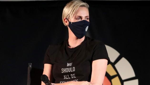 """Charlize Theron bei einer Benefiz-Vorstgellung von """"Mad Max: Fury Road"""" für ihr """"Africa Outreach Project"""" im Juli 2020 in Los Angeles"""