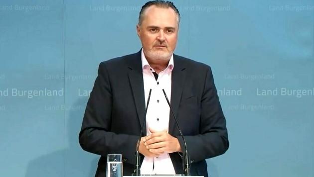Der burgenländische Landeshauptmann Hans Peter Doskozil (SPÖ) (Bild: Screenshot APA)