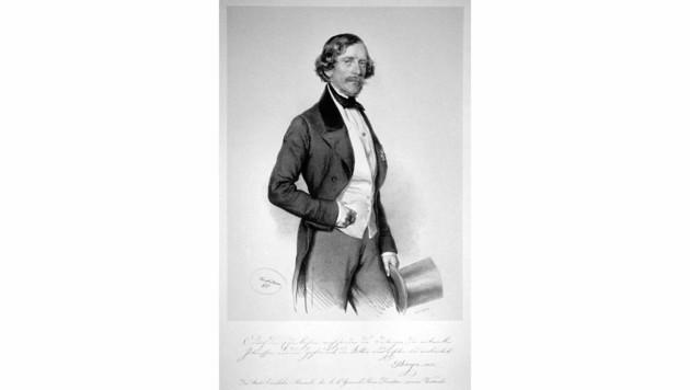 Carl Ritter von Ghega (Bild: wikipedia.org (gemeinfrei))