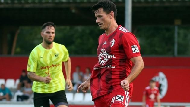 "Gibt nun in Kuchl die Kommandos: Ex-Bundesliga-Kicker Robert ""Pepi"" Strobl. (Bild: krugfoto/Krug Daniel sen.)"