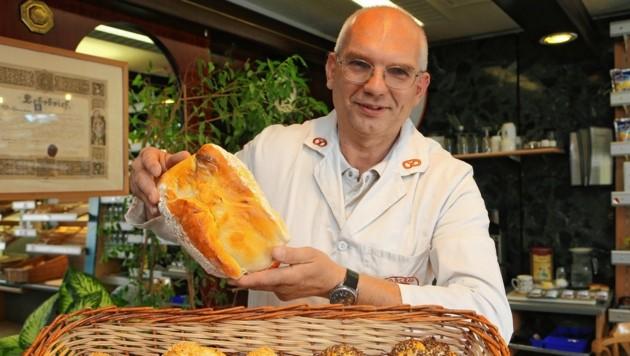 Heinz Regula, Landesinnungsmeister der Bäcker Steiermark (Bild: Jürgen Radspieler)