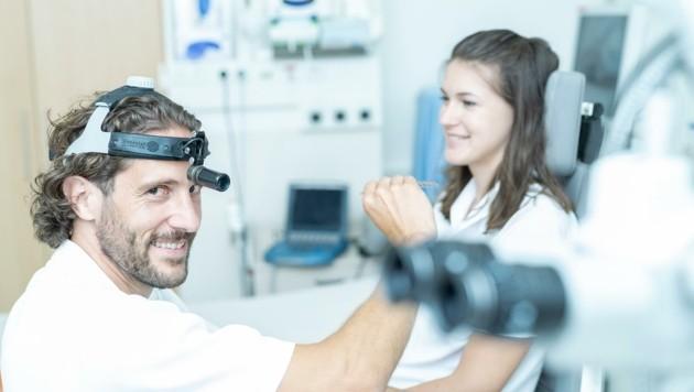 Thomas Rasse, Oberarzt an der HNO-Abteilung am Klinikum Wels-Grieskirchen (Bild: Klinikum Wels-Grieskirchen)