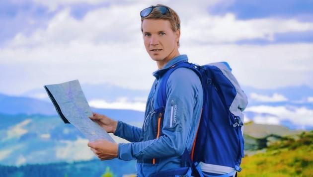 Alexander Spiegl plant mit seinen Partnern weltweite Wanderevents. (Bild: Wallner Hannes)