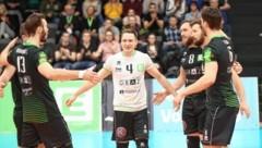 Libero Nik Steiner (weiß) hat beim UVC Graz verlängert. (Bild: Sepp Pail)
