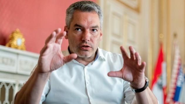 Karl Nehammer (Bild: APA/Georg Hochmuth)
