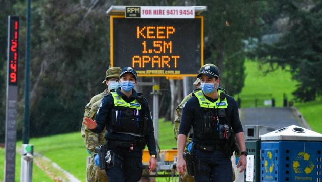 (Bild: APA/AFP/William WEST)