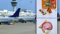 (Bild: stock.adobe.com, Bundespolizei Flughafen München, Krone KREATIV)