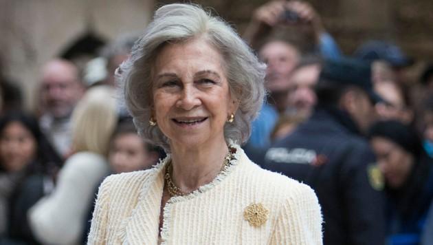Königin Sofia (Bild: AFP)
