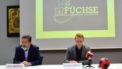 """Füchse-Obmann Heinz Rumpold ist ein """"großer Fisch"""" ins Netz gegangen. (Bild: Foto Ricardo, Richard Heintz 8010 A-Graz)"""