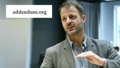 Addendum-Herausgeber Michael Fleischhacker: Einvernehmlicher Entschluss, die Rechercheplattform einzustellen (Bild: APA/HANS PUNZ, twitter.com/daswasfehlt)