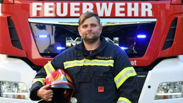 Bernhard Tröszter (Bild: P. Huber)