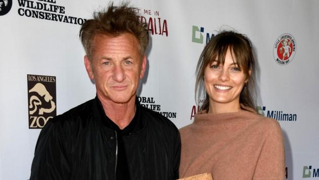 Sean Penn und Leila George (Bild: APA/Kevin Winter/Getty Images/AFP)