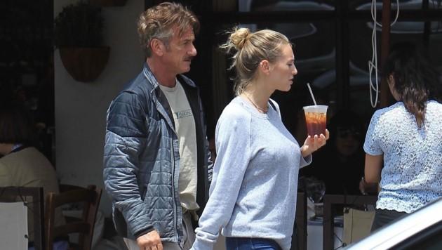 Sean Penn und Leila George (Bild: www.PPS.at)