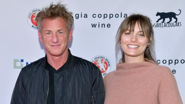 Sean Penn und Leila George (Bild: 2020 Getty Images)
