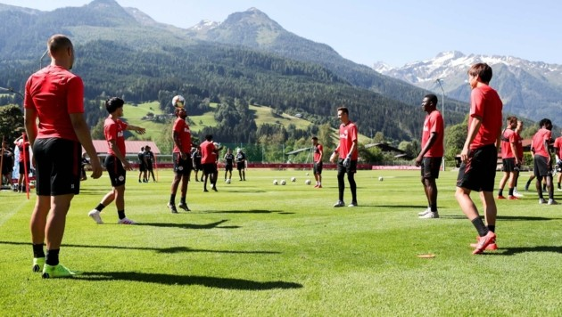 Wie schon 2019 sind Salzburgs Bullen beim Trainingscamp in Bramberg bestens aufgehoben.