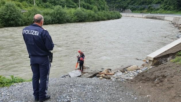 Rafting-Unfall auf der Salzach (Bild: WR Salzburg)