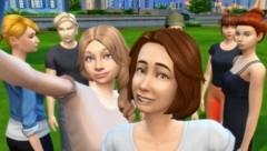 """Das Planetenparty Prinzip als Sims-Figuren: Die Online-Version der Produktion """"Bitte spiel mich!"""" (Bild: Planetenparty Prinzip)"""