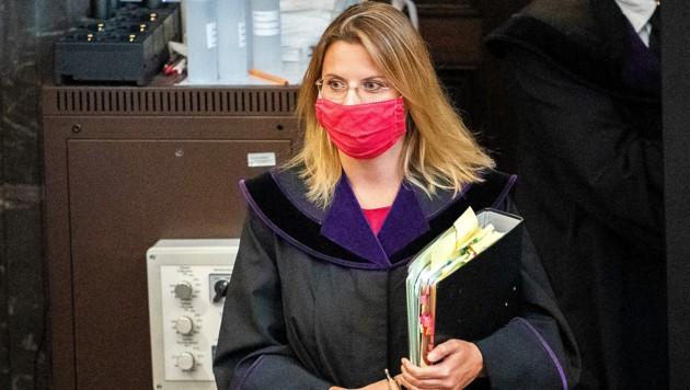 Richterin Marion Hohenecker (Bild: APA/GEORG HOCHMUTH)