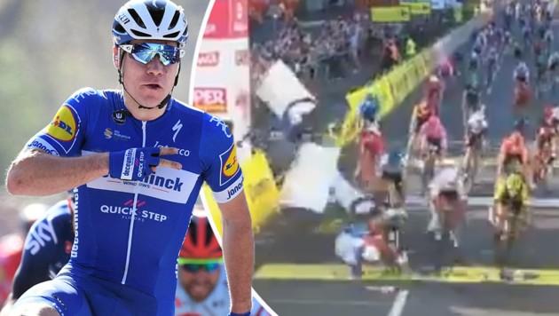 (Bild: AFP, twitter/cycling4cycling, krone.at-grafik)