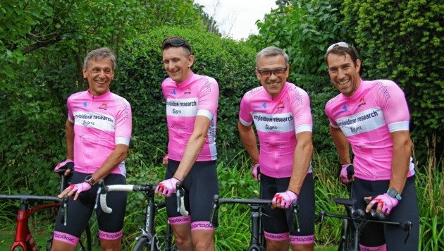 Josef Graser (2. v. re.) und sein Team Edgar Zrzavy, Christian Wallisch, Markus Graser (v. li. n. re.). (Bild: karin graser)