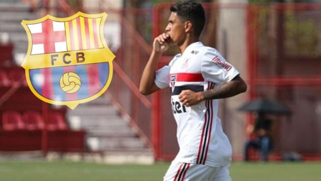 (Bild: instagram.com/gustavomaia011, FC Barcelona)