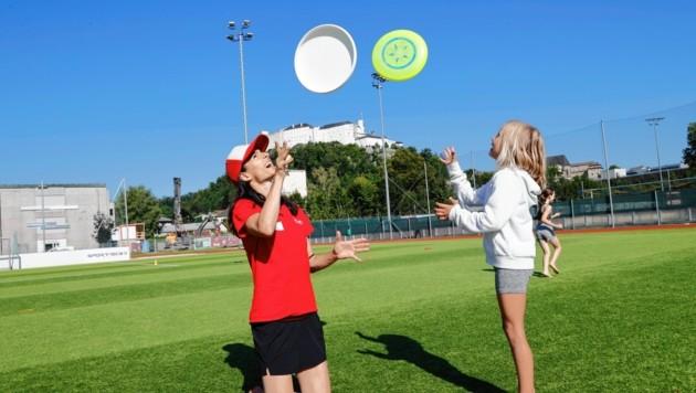 Salzburg, Sports 4 Fun Event Sportunion Sandra und Jana
