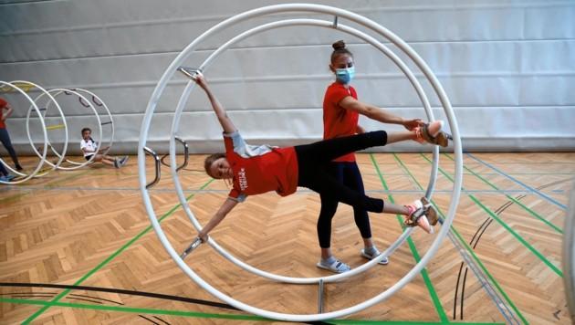Salzburg, Sports 4 Fun Event Sportunion Sophia und Birgit