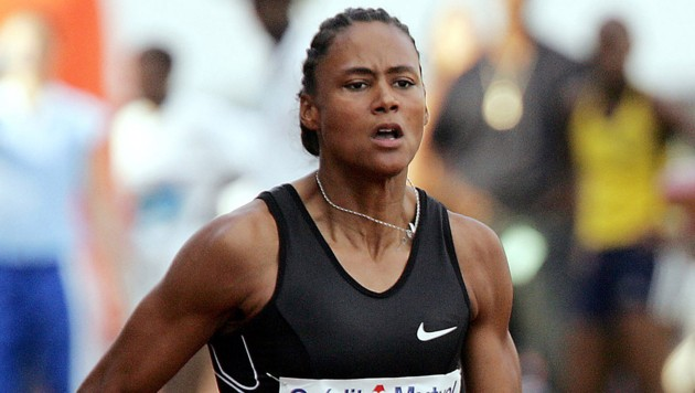 US-Sprinterin Marion Jones