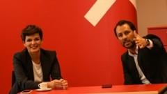 Seite an Seite: SPÖ-Bundesparteichefin Pamela Rendi-Wagner und der Tiroler Landesparteiobmann Georg Dornauer. (Bild: LIEBL Daniel | zeitungsfoto.at)