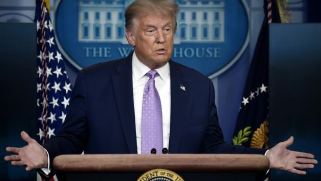 US-Präsident Donald Trump. (Bild: AFP)