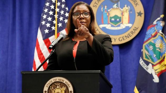 Generalstaatsanwältin Letitia James (Bild: Associated Press)