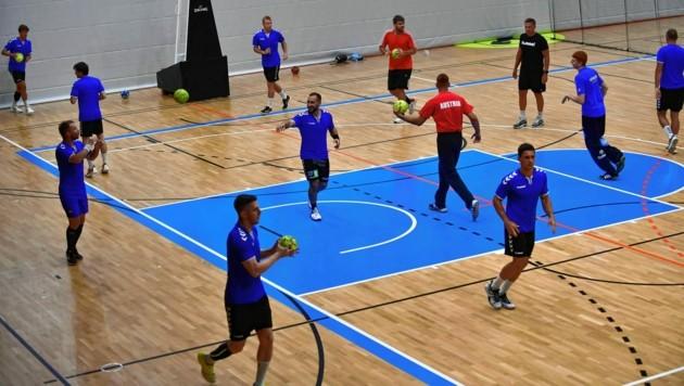 Das Training der Grazer Handballer findet aktuell ganz normal statt. (Bild: Foto Ricardo; Richard Heintz 8010 A-Graz)