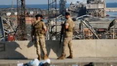 Die Militärstaatsanwaltschaft gab die Festnahmen am Donnerstagabend bekannt. (Bild: AP)