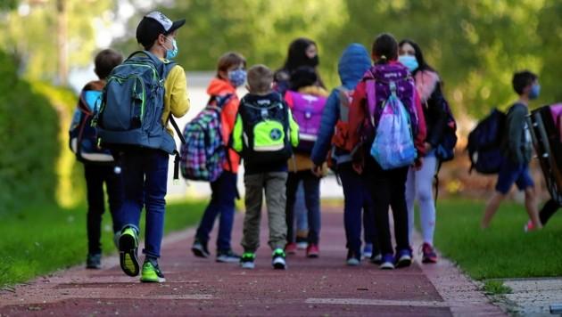 Der Schulstart steht den rund 73.500 Schülern in Salzburg Mitte September bevor. (Symbolbild) (Bild: ANDREAS TROESTER)