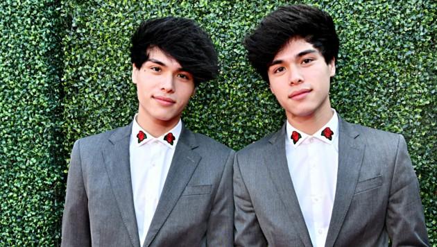Alan und Zwillingsbruder Alex Stokes (r.) (Bild: AFP)