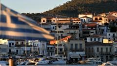 Blick auf die griechische Kleininsel Poros (Bild: AFP)